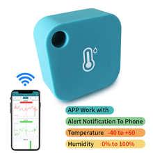 Беспроводной Wi-Fi-датчик температуры с Bluetooth