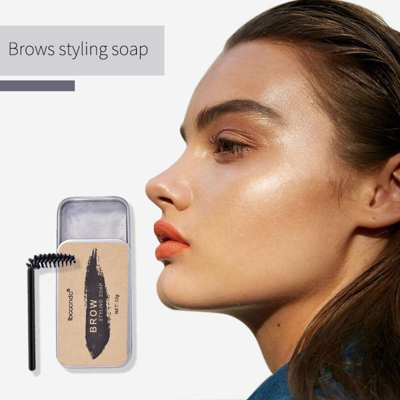 1PC 3D Feathery Brows Setting Gel Waterproof Soap Brow Makeup Kit Lasting Eyebrow Gel Women Eyebrow