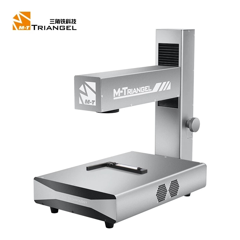 Promo M-Triangel Mi one Laser Machine Folding Type Power 20W Separating Engraving Machine for iPhone Back Glass Remove Frame Cutting