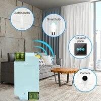 WiFi interrupteur de lumiere intelligente universel disjoncteur minuterie sans fil telecommande vocale fonctionne Alexa Google maison accessoires de maison intelligente chaude