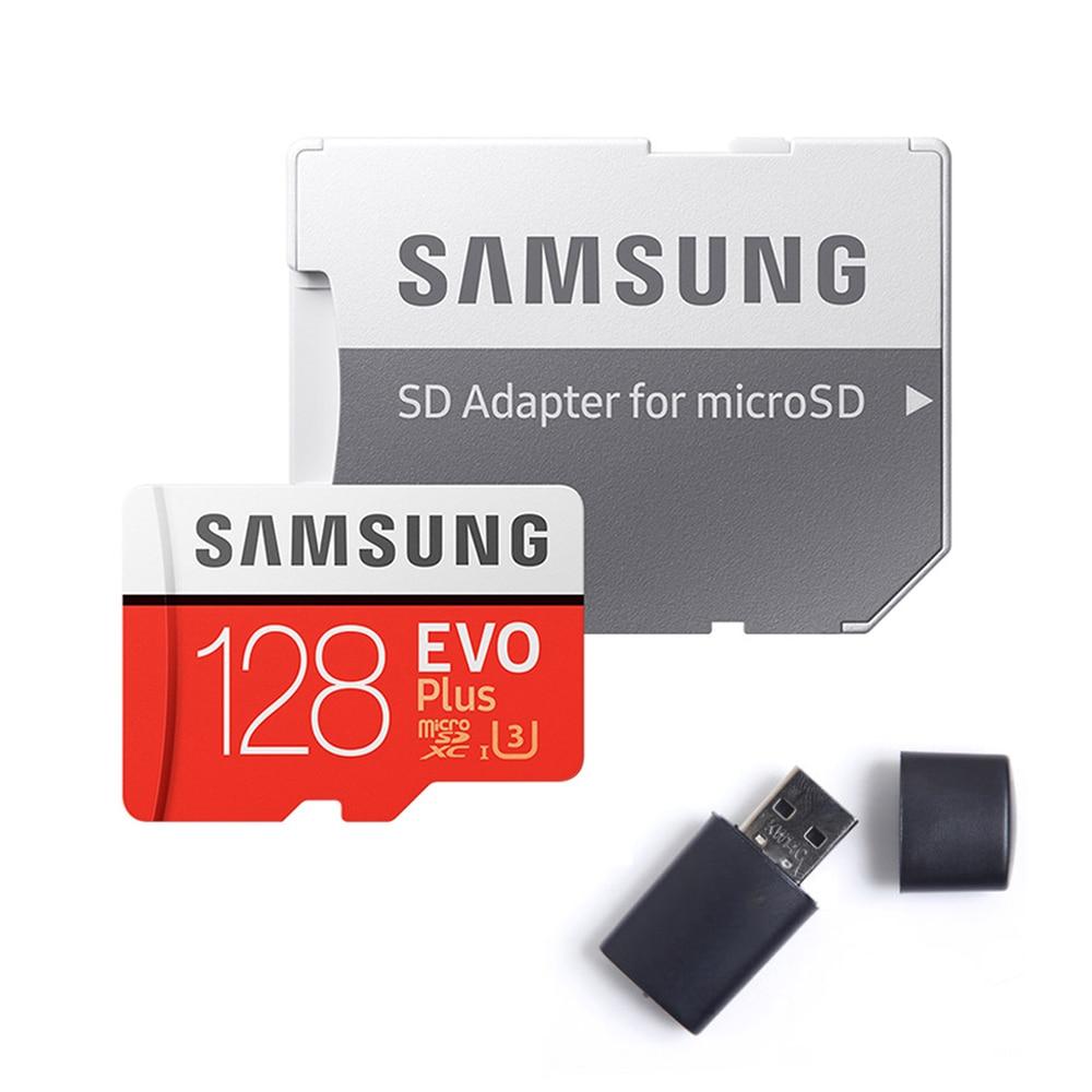 SAMSUNG EVO Plus/EVO Micro SD Card 128GB 64GB 32GB 256GB 512GB Micro SD 128gb Flash Memory Card SD Memory U3 U1 Microsd TF Cards