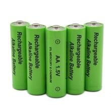 Nouvelle étiquette 3000 MAH batterie rechargeable AA 1.5 V. AAA 1.5 V Rechargeable nouvelle batterie Alcalinas pour jouet diode électroluminescente