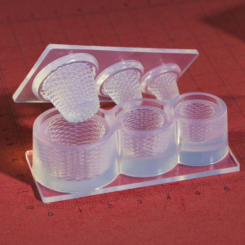3D Silicone Molde Cesta de Flores Carnudas Plantas Verdes Moldes Handmade Jóias DIY Fazendo Ferramentas de Molde AXYD