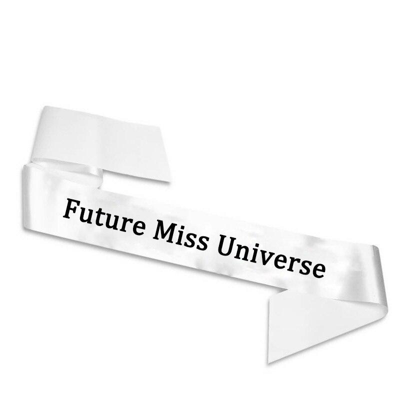 Future Miss univers ceinture de réception-cadeaux   Décoration cadeau danniversaire pour maman ou fille