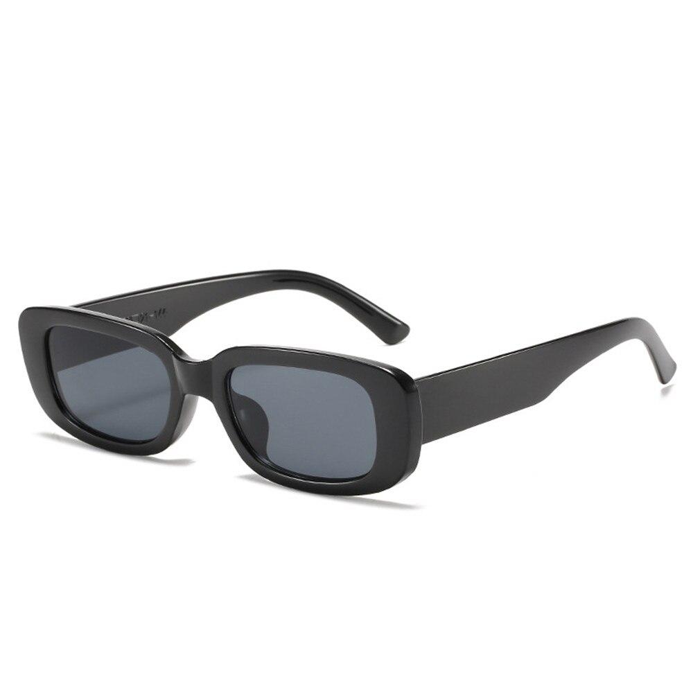 2021 New Small Rectangle Sunglasses Women Vintage Brand Designer Square Sun Glasses Men Shades Goggl