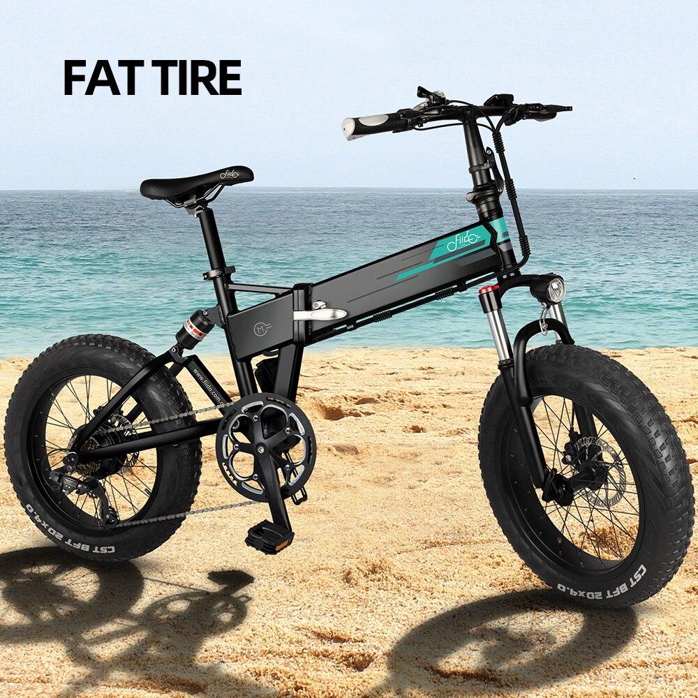 Bicicleta eléctrica plegable para Adulto, bici de montaña, 250W