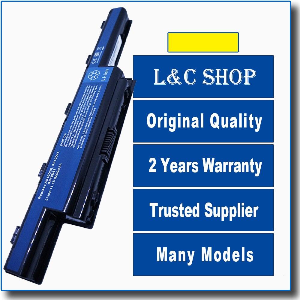 Paquete de batería Acer Aspire 5252 de 5253 de 5253G 5336G 5551...