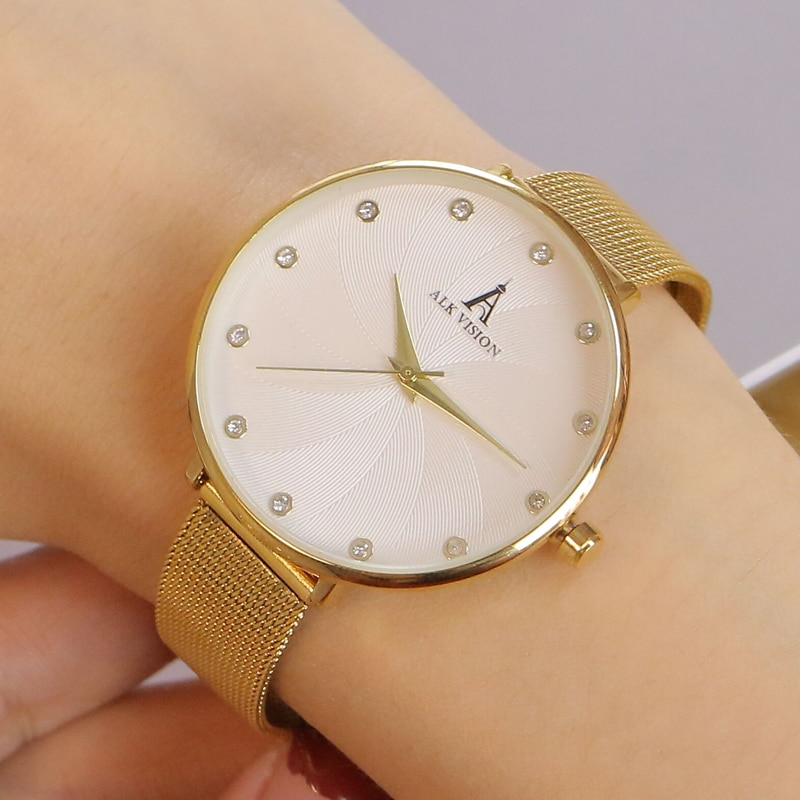 2020 Ladies Wrist Watches New fashion Wristwatch Silver Brand Luxury Quartz Female Clock Rose Gold Stainless Steel enlarge