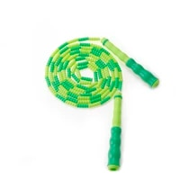 sports plastic segmented adjustable jumping skipping rope for kids gym fitness