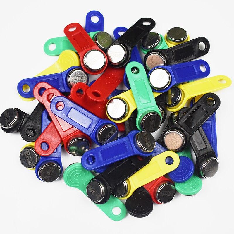 50 قطعة/الوحدة قابلة لإعادة الكتابة تتفاعل اللمس مفتاح الذاكرة ، RW1990 iزر ، نسخة بطاقة ، ساونا دالاس مفتاح