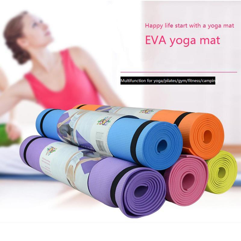 173*61*0.4cm Yoga Mat Anti-slip Blanket PVC Gymnastic Sport Health Lose Weight Fitness Exercise Pad Women Sport Yoga Mat