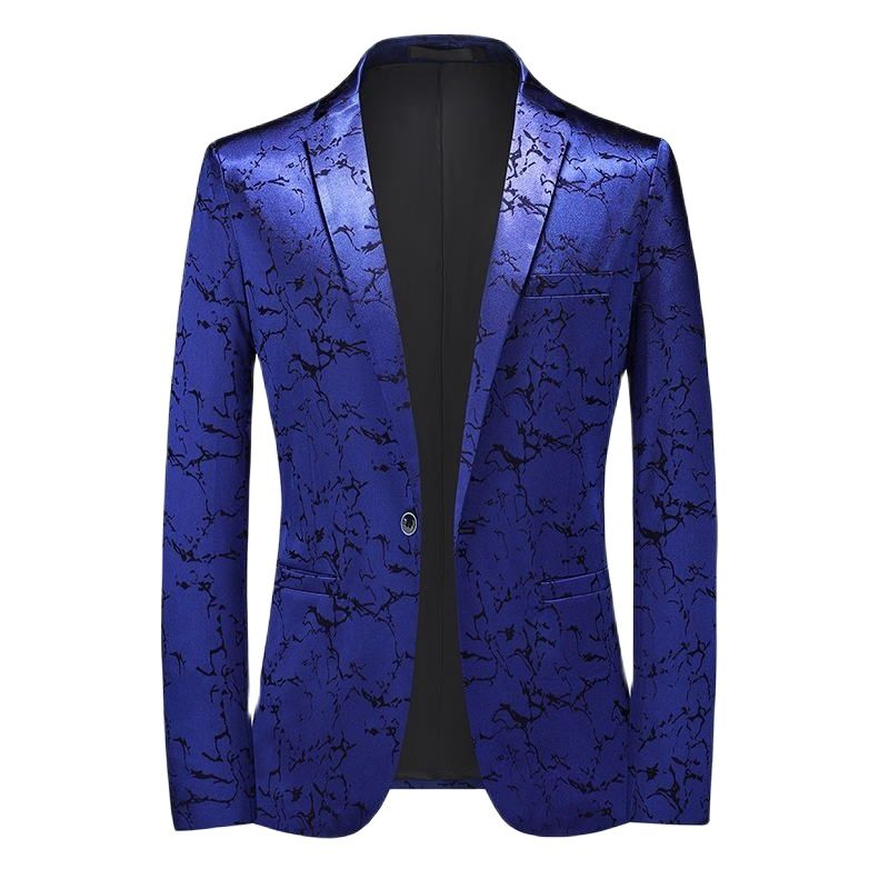 بليزرز دعوى الذكور بدلة معطف جديد سترة كبيرة الحجم سليم جميل الزي بلون زر الباب أربعة اللون جيب الديكور