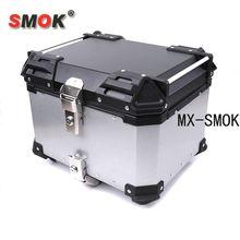 SMOK Universal 45L/55L/65L coffre Super grande poignée ronde en alliage daluminium modifié coffre arrière boîte de rangement bagages amovibles