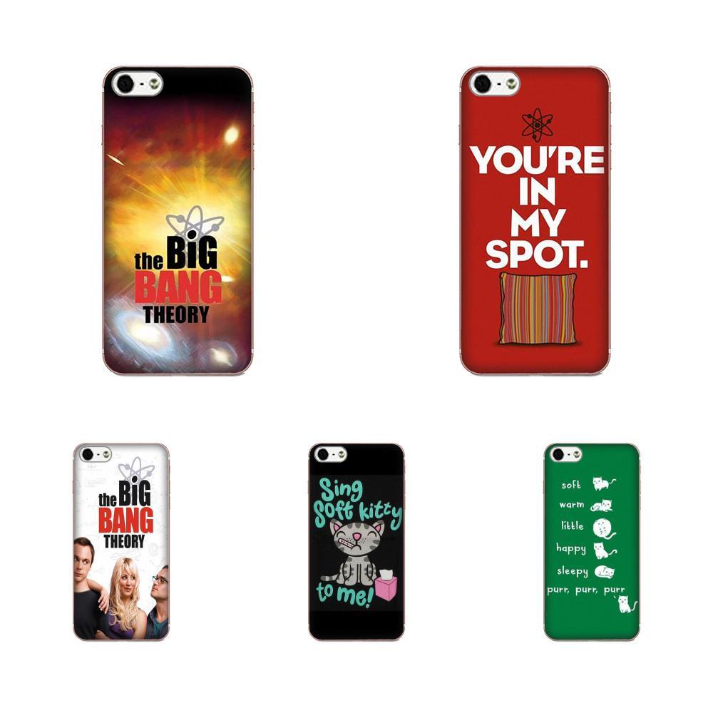Skin Thin Big Bang Theory, Sheldon Lee Cooper para Sony Xperia Z Z1 Z2 Z3 Z4 Z5 compact Mini M2 M4 M5 T3 E3 E5 XA XA1 XZ Premium