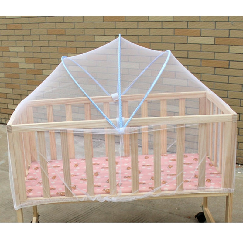 Baby crib netting Mosquito Net for sleeping Bed Mesh For Kids Outdoor Crib Folding Portable Baby Cradle Cover