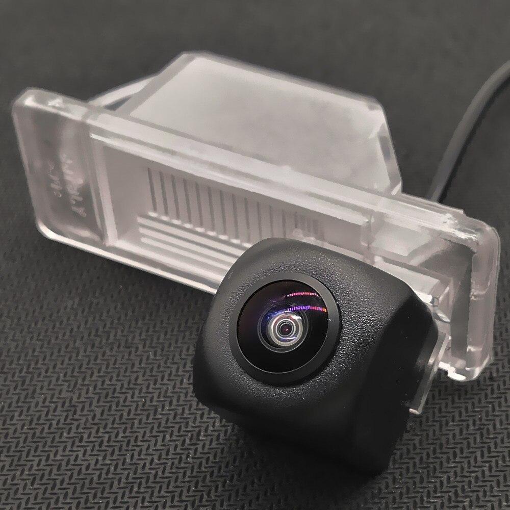 YIFOUM lente de ojo de pez Starlight noche visión vista trasera de coche cámara para Nissan patrulla patadas Cefiro X-Trail Dualis Qashqai J10 Sentra