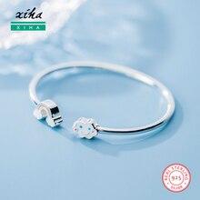 Genuine 925 Sterling Silver Bracelets for Women Cloud Rainbow Bracelet Bangle Luxury Jewellery Dropshipping Supplier