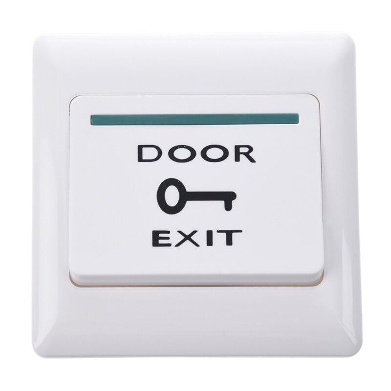 Painel eletrônico do botão da greve da saída da porta