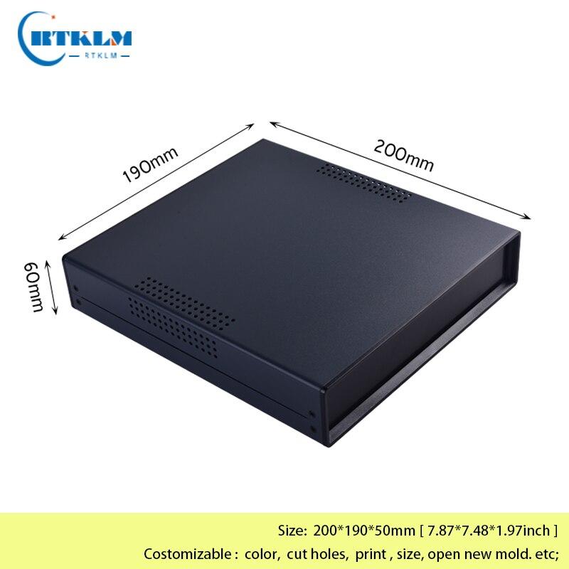 مرفقات صندوق تقاطع حديد إلكتروني ، صندوق أدوات حديد 200 × 190 × 50 مللي متر