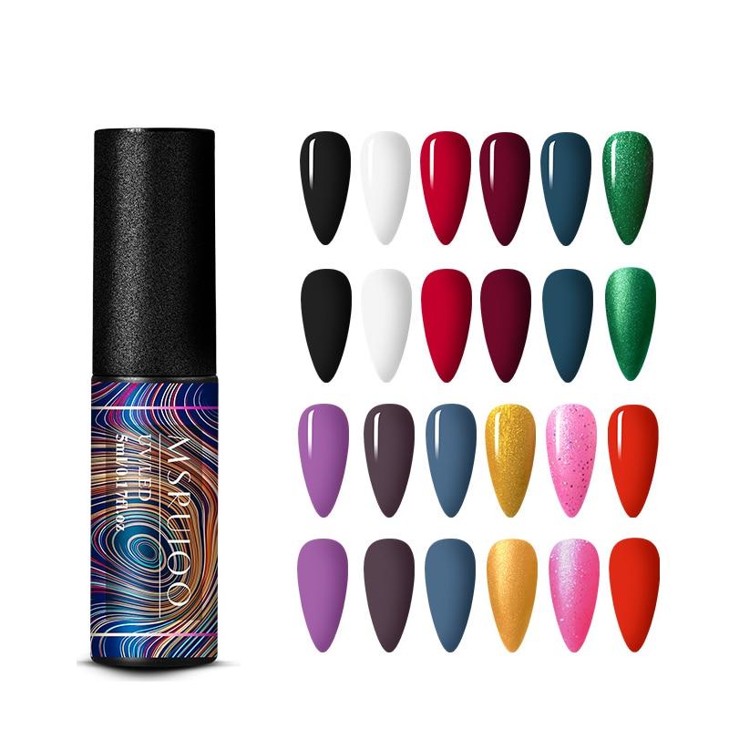 MSRUIOO 6ml Uv Gel Nagellack Top Uv Led Gel Nail art Lack Hybrid Soak Off Gel Lack Glück nagel Farbe Gel Polnischen Gellak