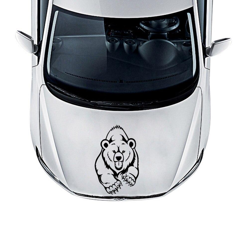 Автомобильные наклейки на дверь, медведь, автомобильные персонализированные автомобильные наклейки, мотоциклетные наклейки