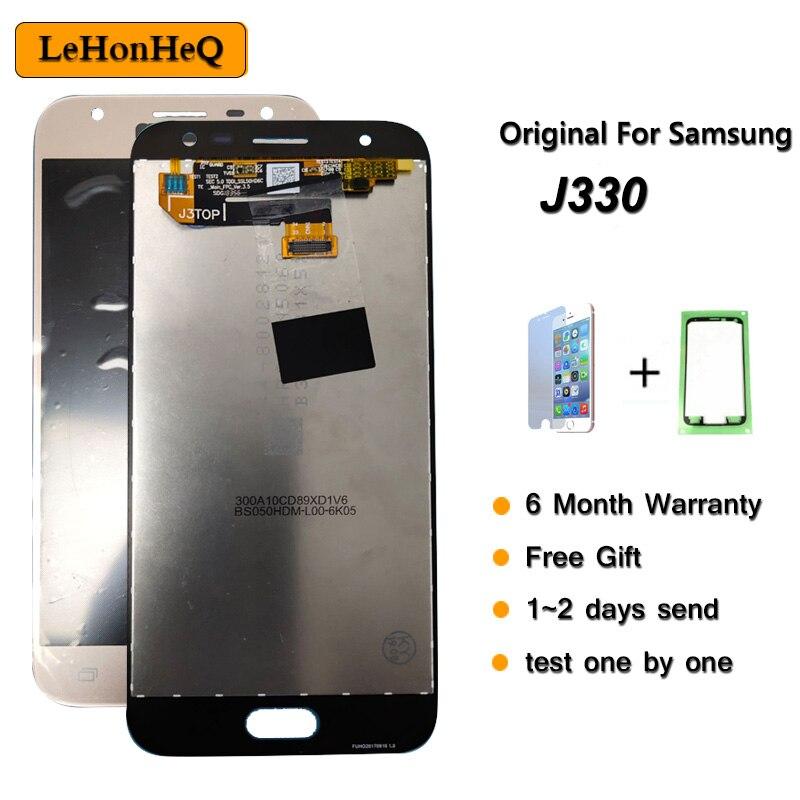 LCD Original para samsung Galaxy J3 2017 pantalla MONTAJE DE digitalizador con pantalla táctil para samsung J3 Pro J330F J330 LCD Replacement