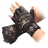 Перчатки мужские, для вождения и занятий спортом, из искусственной кожи, с аксессуары от ветра