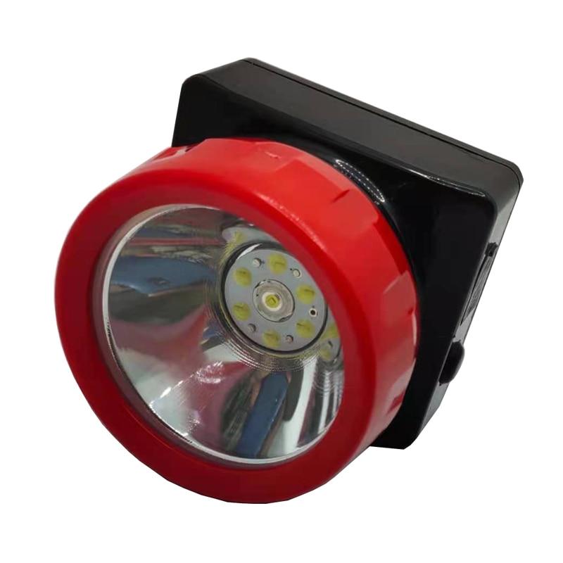 12 PCS/LOT LD-4625 LED Miner Cap Lamp Miner's Working Headlamp Hunting Light enlarge