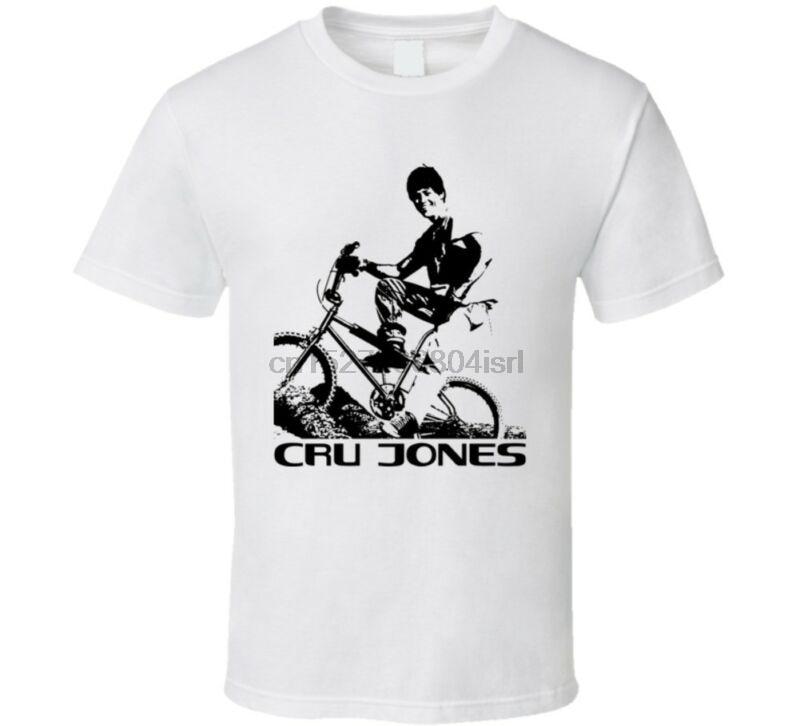 Camisa retro da bicicleta de cru jones rad t