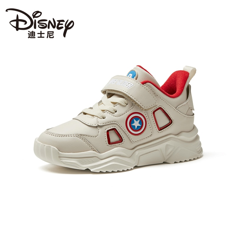 Limited Edition Marvel Heroes Avengers Captain America Children's Shoes Sneakers Plus Velvet Warm Casual Shoes Running Shoes enlarge