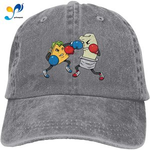 Yellowpods Boxing Casquette Baseball Dicer Vintage Adjustable Casquette Cap Cowboy Hat Shading Function Unisex