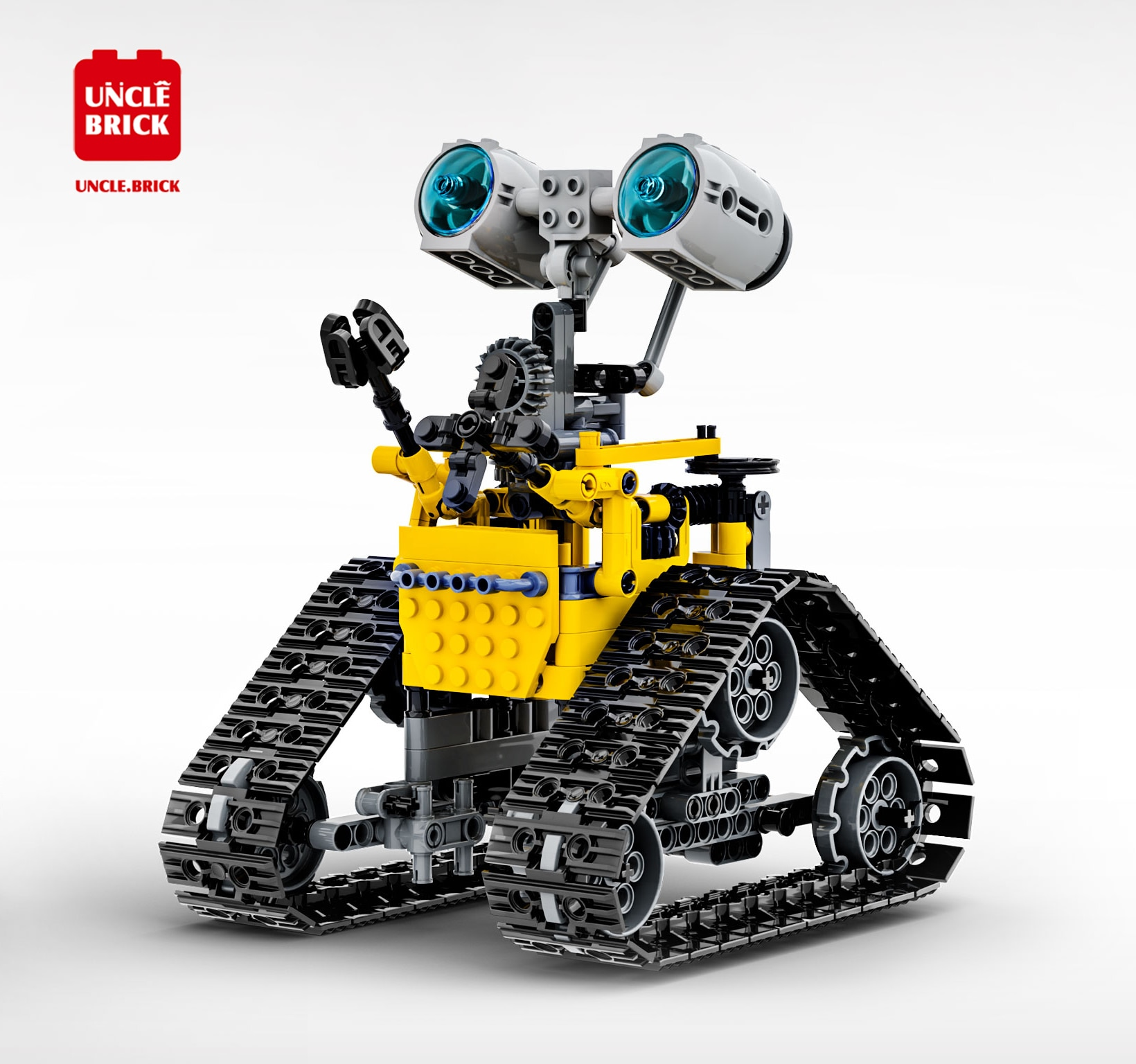 In Stock Technical  Remote Control Electric Programming Robot Building Blocks Model Assemble Bricks Kids Toy Car Gifts