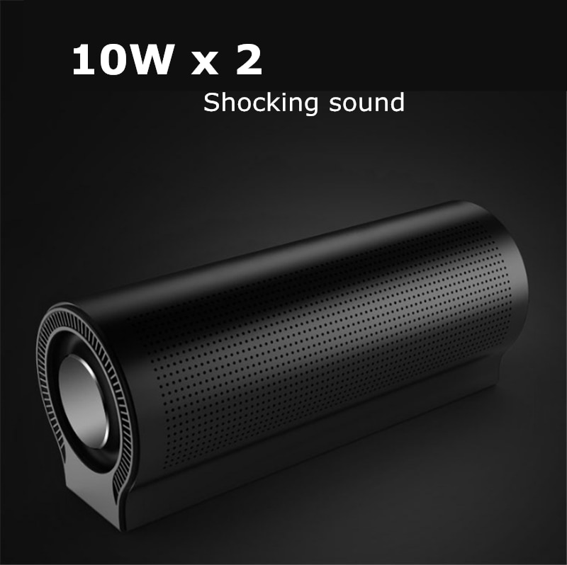Bluetooth Speaker 3D surround 20W Audio Extended Bass Treble Wireless Sound bar Boombox Stereo Subwoofer HiFi Portable Speaker enlarge