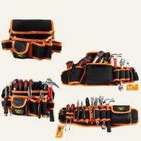 electrician hardware organizer canvas tool bag toolbox storage repair tools bag waterproof bolsa herramientas toolkit ec50gj