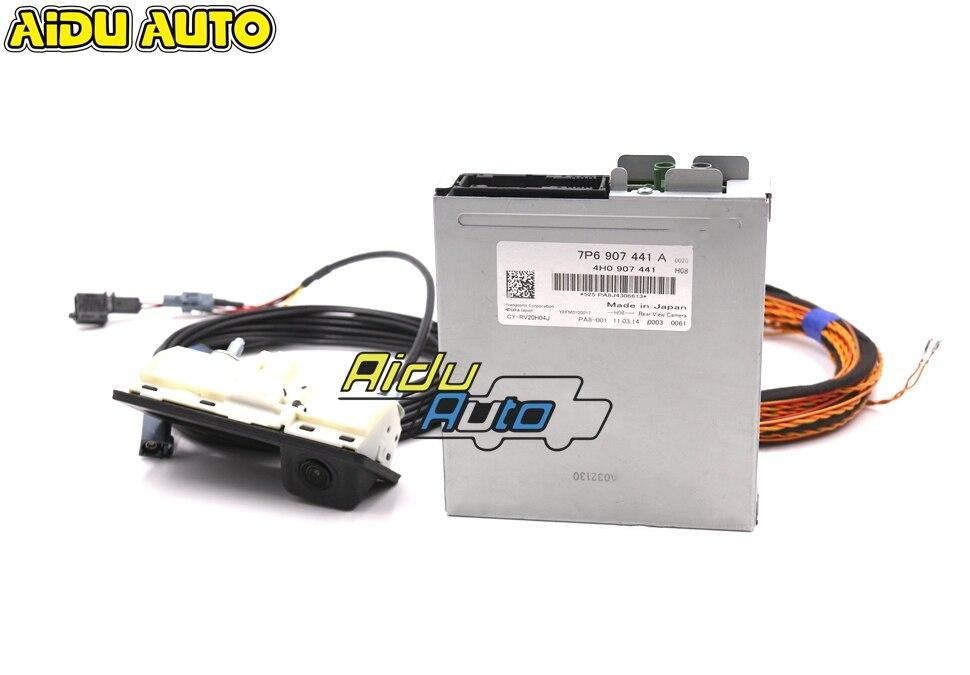 Kit de cámara trasera HighLine usada 7P6 907 441 A RVC para VW Touareg 7P6907441A