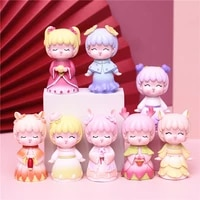 creative hand made blind box flower fairy girl heart cat doll home decoration lucky bag toy birthday gift desktop decor