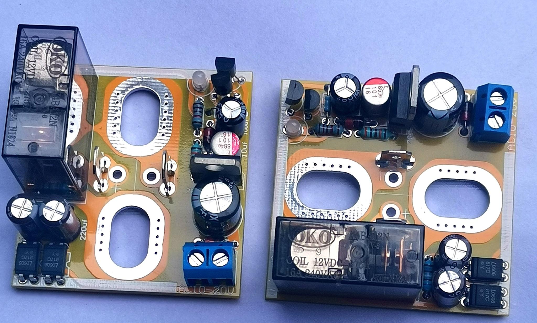 Głośnik wzmacniacz płyta ochronna/posrebrzany przekaźnik kontaktowy/wsparcie wzmacniacz mocy BTL para gotowych płyt