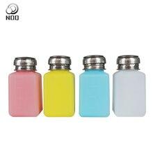 NOQ Nagellack Entferner Reinem Aceton Flasche Gel Pumpe Flasche Reiniger Nagel UV Gel Leere Dispenser Flüssigkeit UV Gel Polnisch nail art