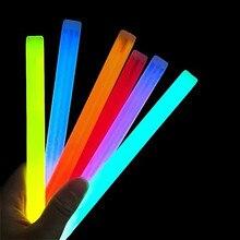 Fête Fun Fluorescence lumière lueur bâtons Bracelets colliers néon mariage lumineux coloré lumière événement Festival fournitures