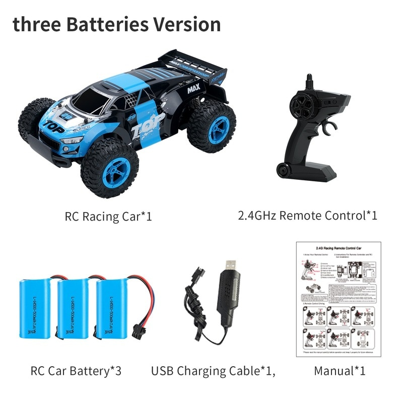Competitive Off-Road Vehicle Rc Remote Control Car Can Drift High-Speed Climbing Remote Control Car Children's Toy enlarge