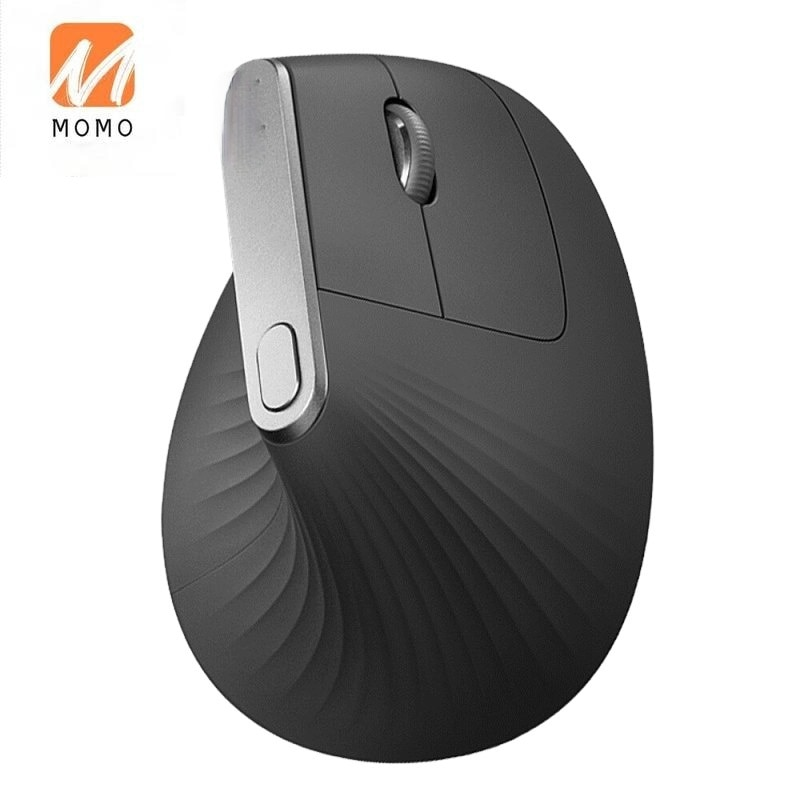 Vertical Bluetooth Wireless Ergonomic Mouse With Logitech FLOW 2.4GHz USB Nano For Overwatch DOTA PUBG LOL Mouse Gam