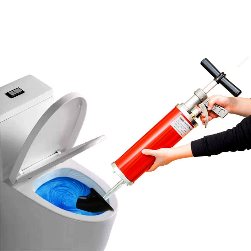 Домашние высокие Давление Туалет Трубы драгера ручной дренажная труба канализационная инструмент для очистки