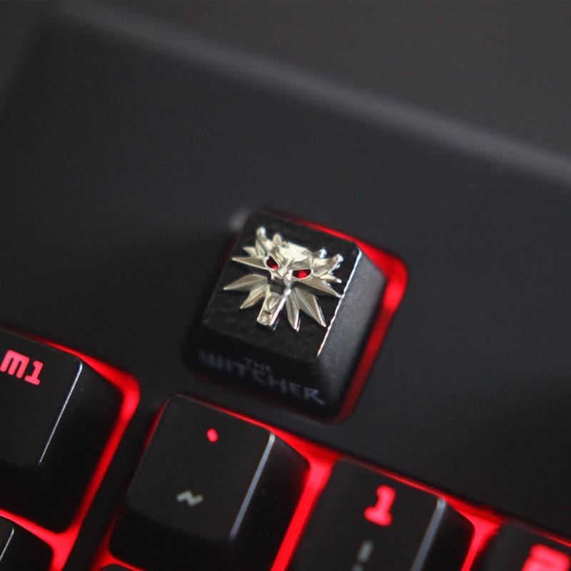 Keycap 1 3d gravado keycap, um jogo no vapor, keycap gravado personalizado da liga de alumínio do zinco para a altura mecânica do teclado r4