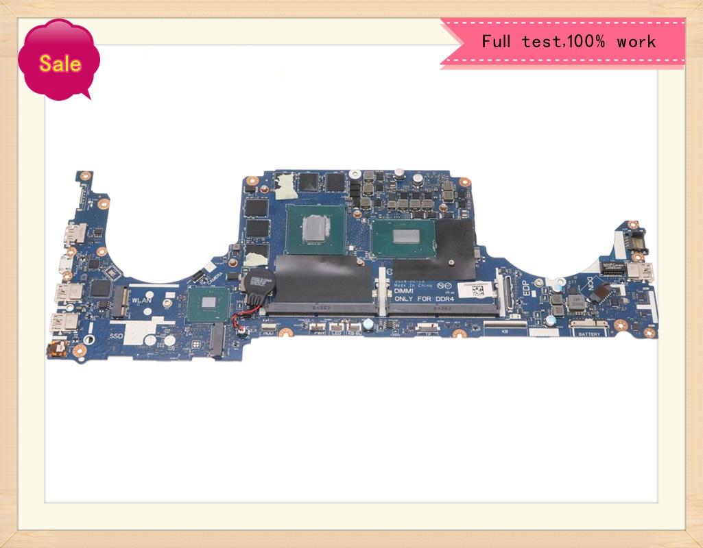 Para DELL G7 7588 Laptop Motherboard DDK51 DDK52 DDK53 Notebook LA-E994P CN-0KPG8D 0KPG8D SR3Z0 I5-8300H Mainboard CPU GTX1060 6G