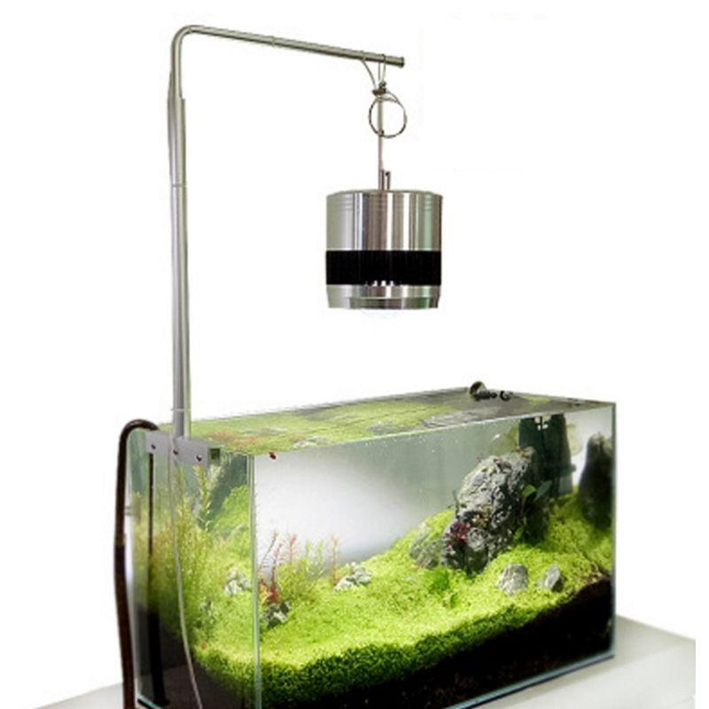 Universal Aluminium Alloy Aquarium Fish Tank Light Hanging Stand Safely Fixture Support Hanger LED Lamp Holder Clip Tools