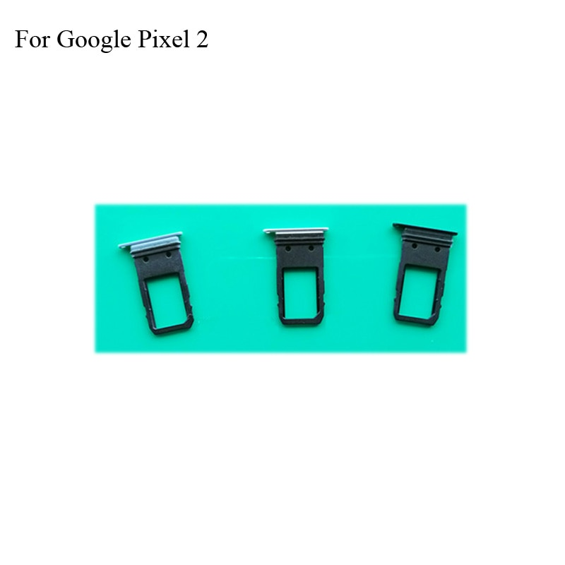 Para Google Pixel 2 nuevo soporte de tarjeta Sim Original bandeja ranura para tarjeta para Google Pixel 2 Pixel2 soporte de tarjeta Sim reemplazo