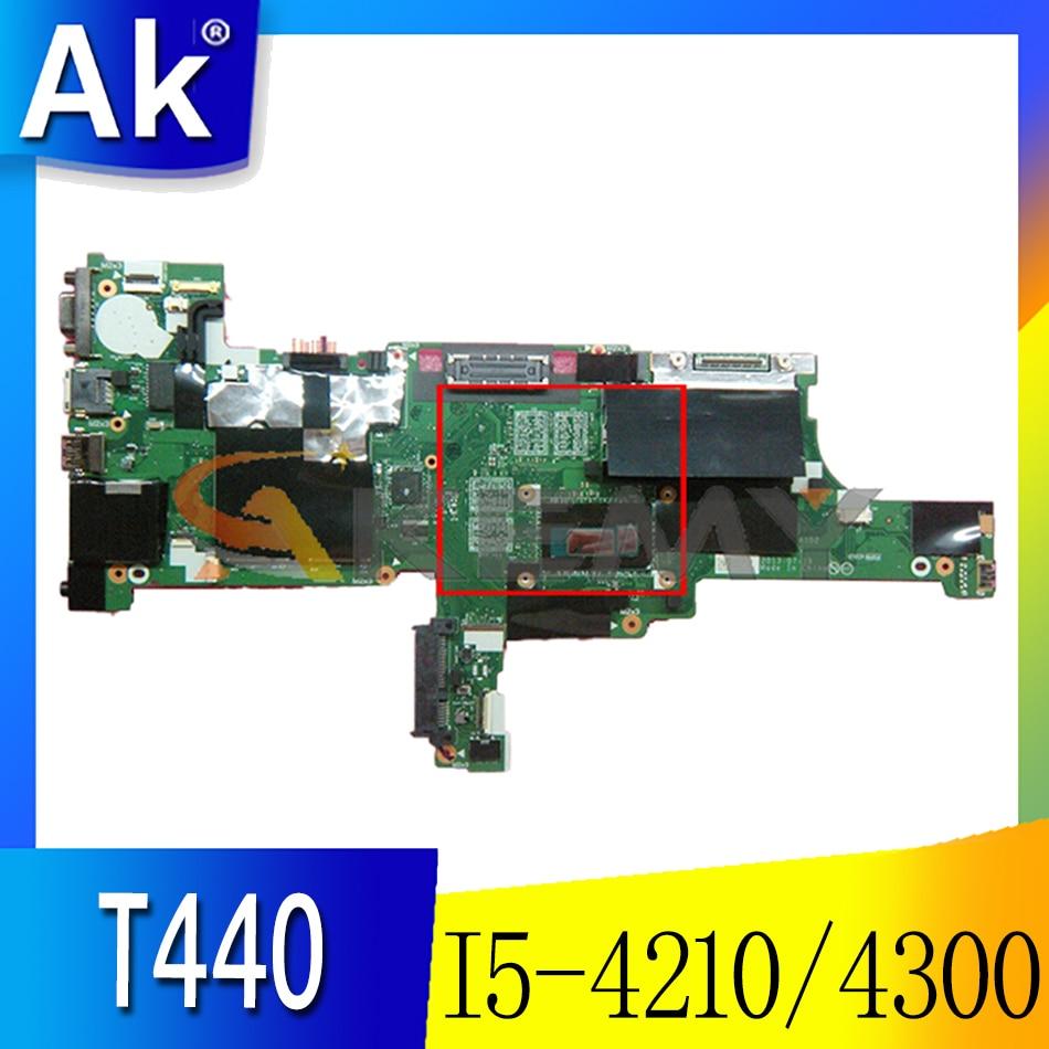 Akemy VIVL0 NM-A102 لينوفو ثينك باد T440 اللوحة المحمول وحدة المعالجة المركزية I5 4210 4300 4GB RAM FRU 00HM163 00HM171 00HM173