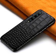 Coque de téléphone portable en cuir véritable pour Xiomi Mi 10 10 Pro 8 9 Lite 9T Note 10 A3 A2 housse pour Xiaomi Redmi Note 8 Pro 7 Note 8T 7 5