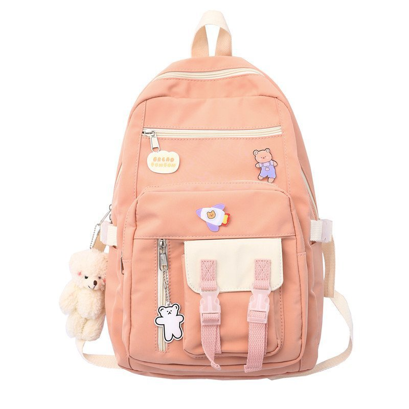 amasie women backpack new fashion tassel small backpack preppy style bag for girl mini backpack wed0010 Korean Style Canvas Waterproof Laptop Backpack For Women Fashion Travel Backpack School Bag For Tennage Girl Shoulder Bag
