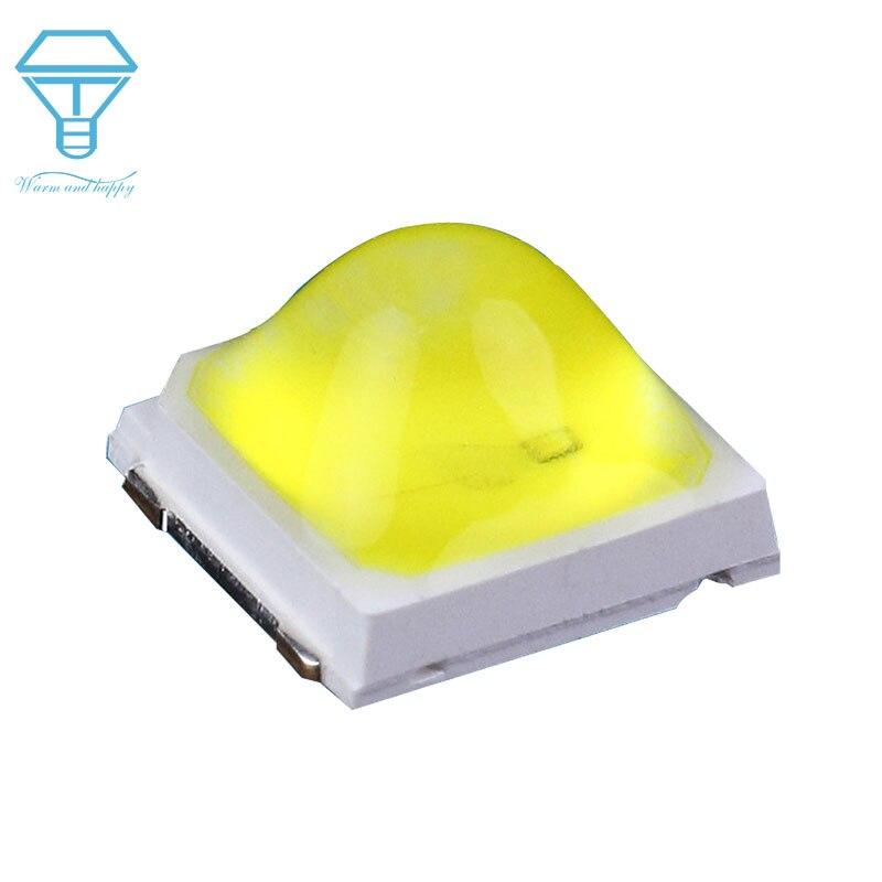 500pcs LED UV Lâmpada Luz Bead 1W 365 + 395-405NM SMD5054 5051 5050 LED UV LEVOU Diodos Para prego Para O SOL de Reparação Da Máquina